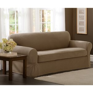 2 Piece Sofa Box Cushion Slipcover by Darby Home Co