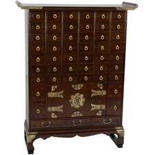 Korean 49 Drawer Apothecary Chest by Oriental Furniture