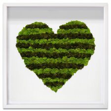 Heart of Moss Live Art Wall Décor