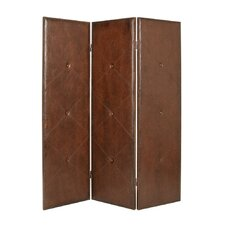 84 x 76 Copley Double Sided 4 Panel Room Divider by Screen Gems