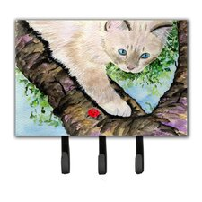Birman Leash Holder and Key Hook by Caroline's Treasures