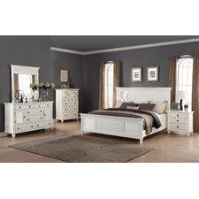 Regitina Panel 5 Piece Bedroom Set by Roundhill Furniture