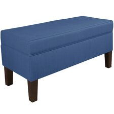 Upholstered Storage Bench by Brayden Studio