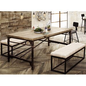 dixon dining table - Metal Dining Room Tables