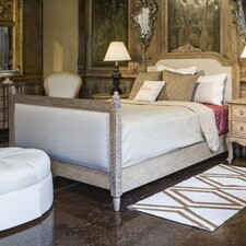 Lilles Queen Upholstered Platform Bed by French Heritage