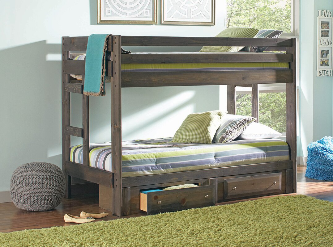 Bunk Bed Viv Rae Malina Youth Twin Bunk Bed Reviews Wayfair