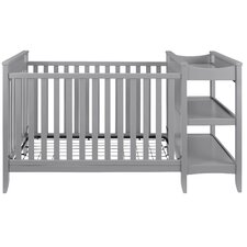 Emma 2-in-1 Convertible Crib with Changing Table