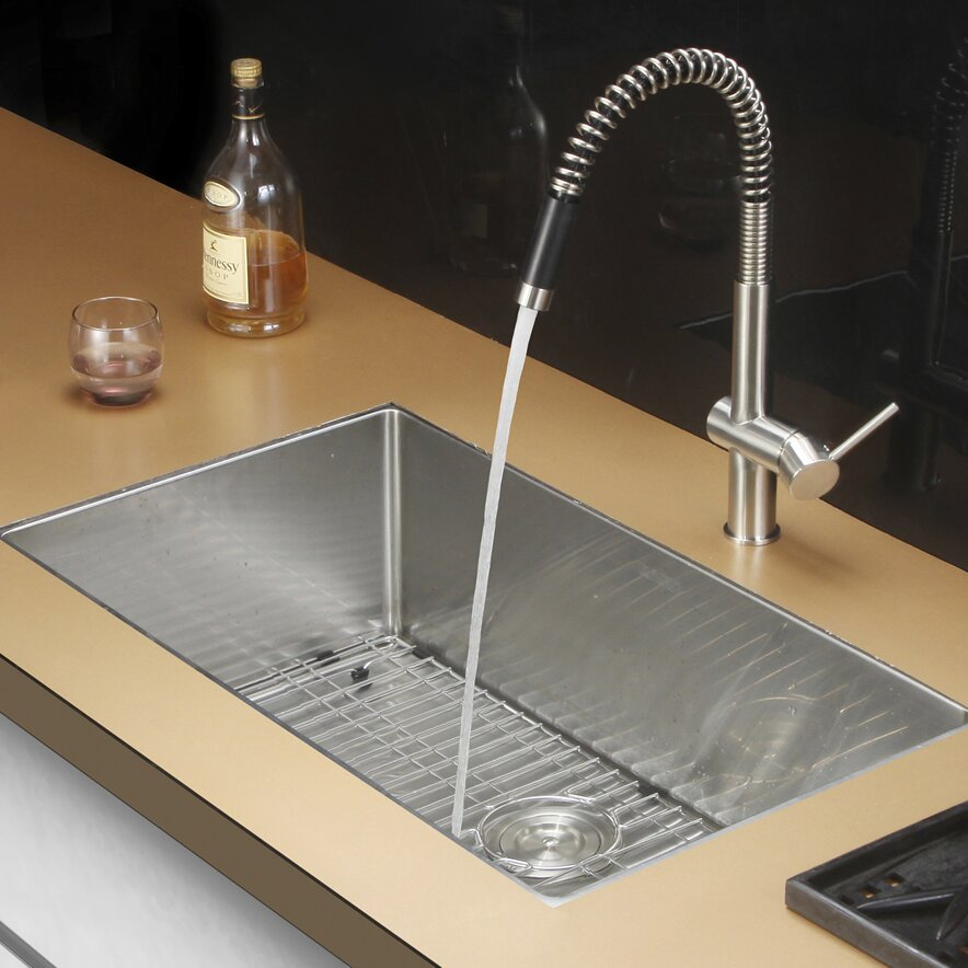 gravena 30 x 18 undermount single bowl kitchen sink - Bowl Kitchen Sink