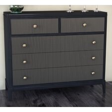 Hughes 4 Drawer Media Chest by Canora Grey