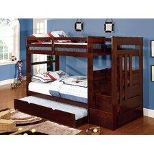 Monsiac Twin Bunk Bed with Storage by Hokku Designs