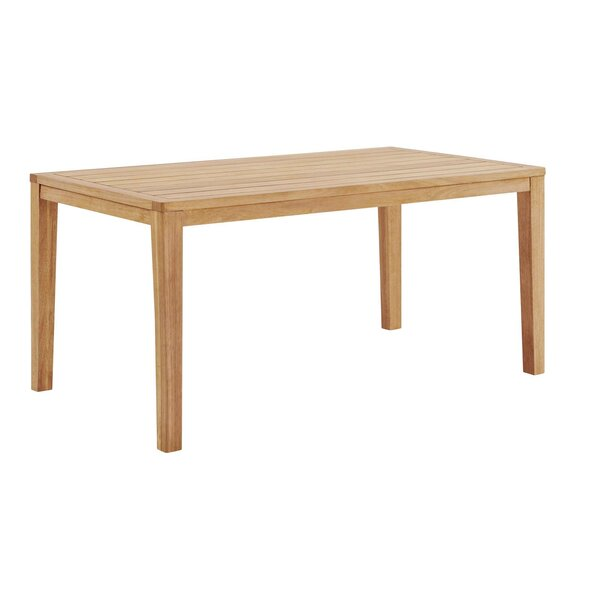 Evelin Wooden Dining Table by Rosecliff Heights Rosecliff Heights