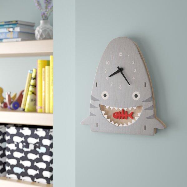 Sensabaugh Shark Pendulum Wall Clock by Viv + Rae