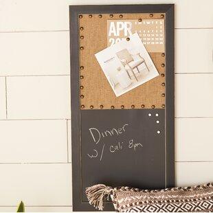 unusual design magnetic bulletin board. Magnetic Wall Mounted Chalkboard Memo Boards You ll Love