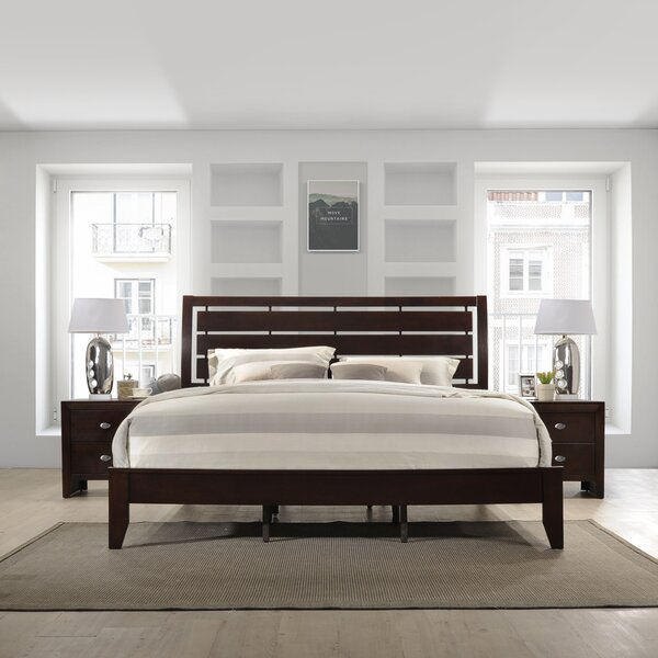 Willenhall Wood Standard Bed by Ebern Designs