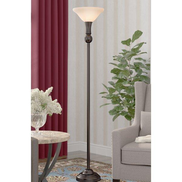 Krauss 3-Way 72 Torchiere Floor Lamp by Winston Porter