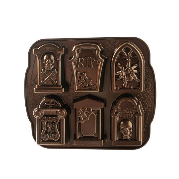 Non-Stick Novelty Tombstone Cake Pan by Nordic Ware