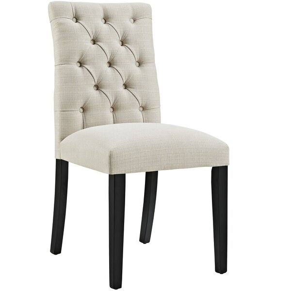 Arcade Tufted Upholstered Side Chair By Charlton Home