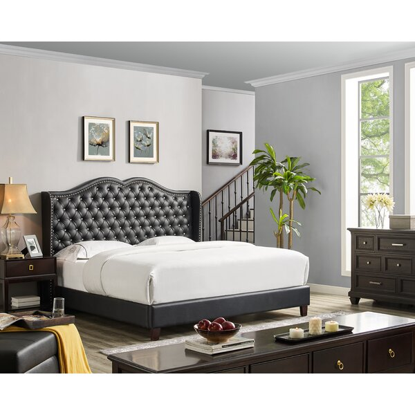 Abrego Upholstered Platform Bed by Darby Home Co