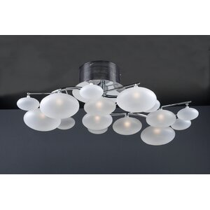 Comolus 8-Light Semi Flush Mount