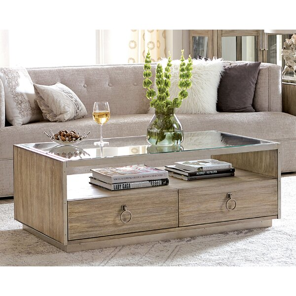 Ceniceros Solid Coffee Table With Storage By Brayden Studio