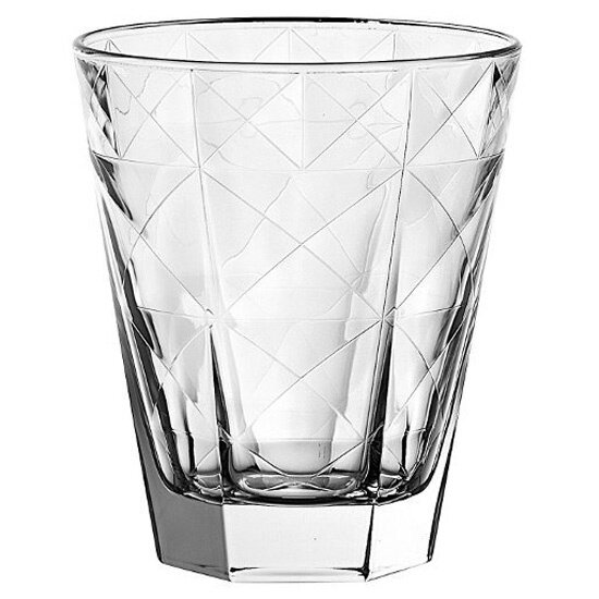 Carre Double Old Fashioned Glass (Set of 6) by EGO