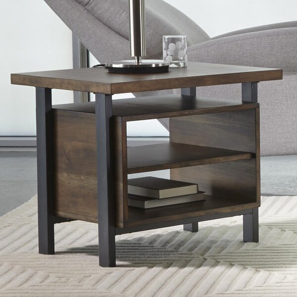 Braddock End Table by Brayden Studio