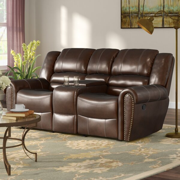 Modern Collection Medici Reclining Sofa by Astoria Grand by Astoria Grand