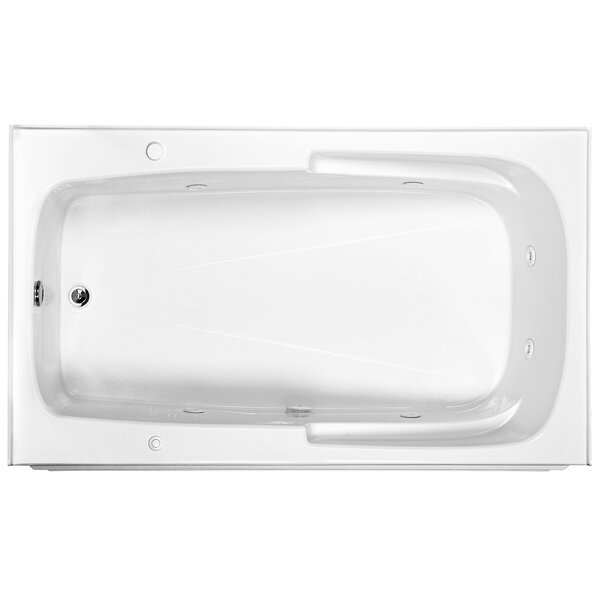 Reliance 72 x 42 Integral Skirted Whirlpool Bathtub by Reliance