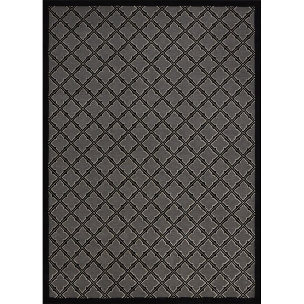 Zopyros Black Area Rug by Mercury Row