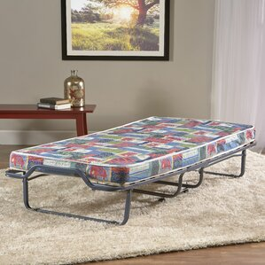 Folding Bed with Mattress by InnerSpac..