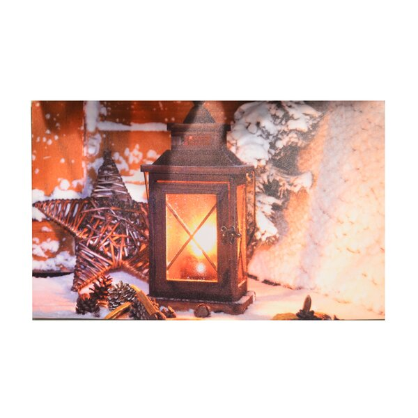 LED Lantern Plaque by Fantastic Craft