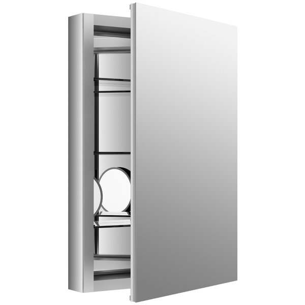 Verdera 20 W x 30 H Aluminum Medicine Cabinet with