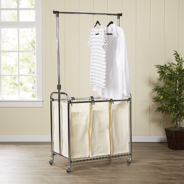 Wayfair Basics 3 Bag Laundry Center by Wayfair Basics™