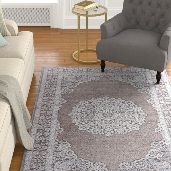 Melandra Gray Area Rug by Astoria Grand
