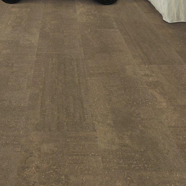 Cork Essence 11-7/11 Cork Flooring in Fashionable Machiatto by Wicanders