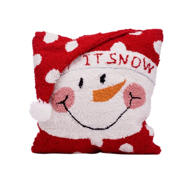 Snowman Christmas Throw Pillow by Glitzhome