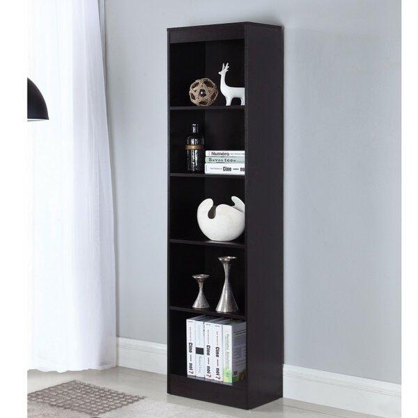 Heard Wooden Standard Bookcase by Ebern Designs