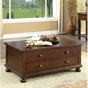 Stenya 2 Drawer Lift Top Coffee Table Darby Home Co