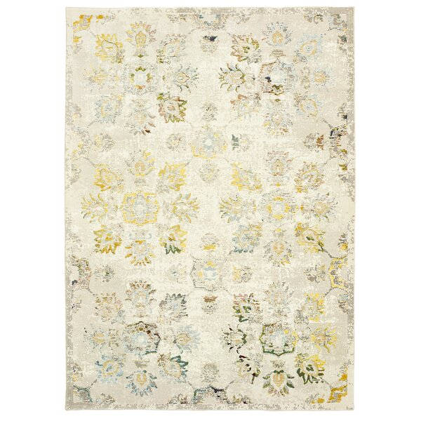 Amory Cream Area Rug by Bloomsbury Market