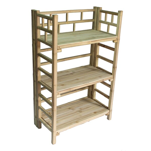 Jamison 3 Tier Standard Bookcase By Bay Isle Home