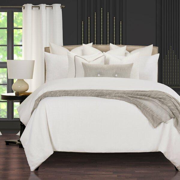 Afternoon Café Luxury Linen Supreme Reversible Duvet Cover and Insert Set