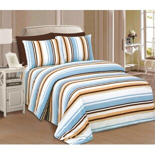 Rosenblum Microfiber Sheet Set By Charlton Home
