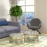Schuetz 2 Piece Coffee Table Set by Everly Quinn