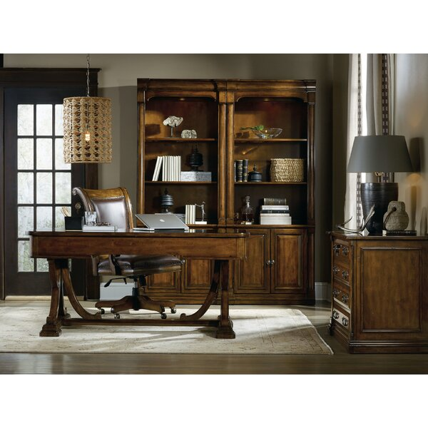 Tynecastle Desk and Chair Set by Hooker Furniture