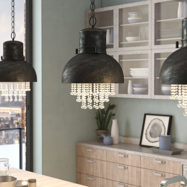 Monadnock 1 Light Inverted Pendant by Trent Austin Design