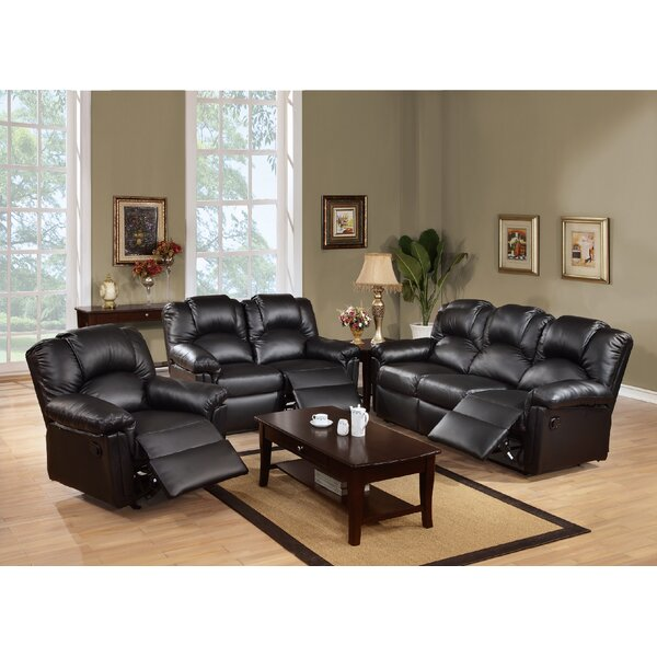 Cannady Reclining 3 Piece Living Room Set By Red Barrel Studio Cool