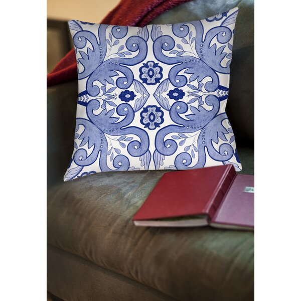 Atherstone 4 Printed Throw Pillow by Red Barrel Studio