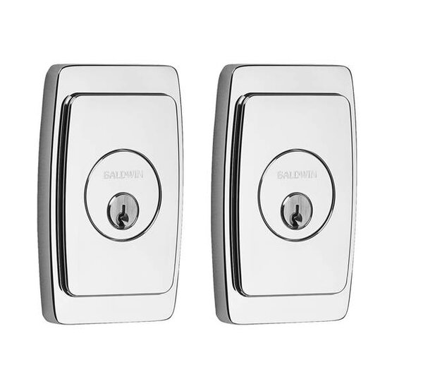 Palm Springs Double Cylinder Deadbolt by Baldwin