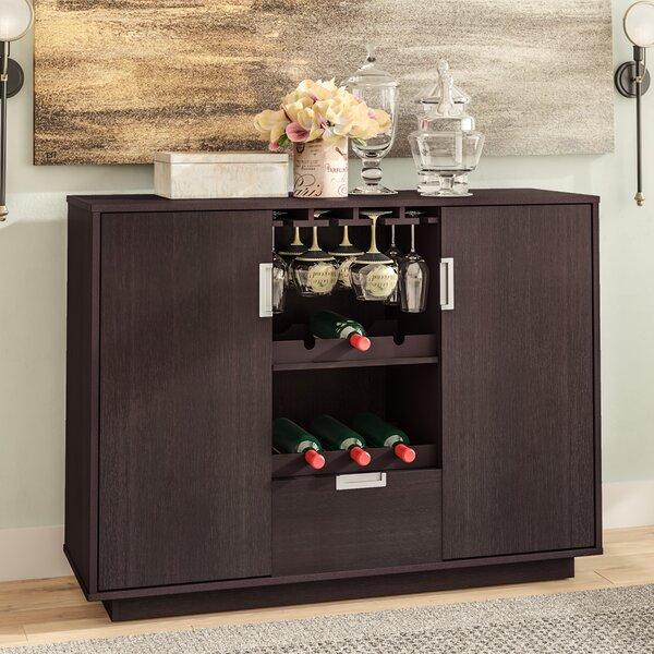 Attica Bar with Wine Storage by Zipcode Design