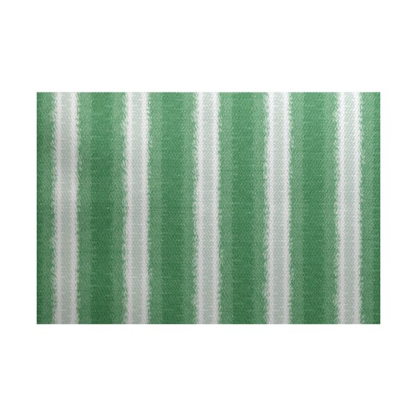 Navarro Green/Gray Indoor/Outdoor Area Rug by Ebern Designs